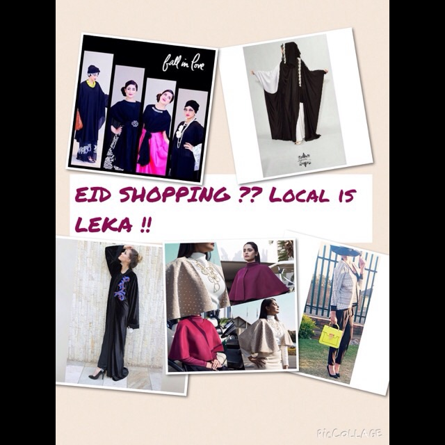 EID SHOPPING ? LOCAL IS LEKA !!!